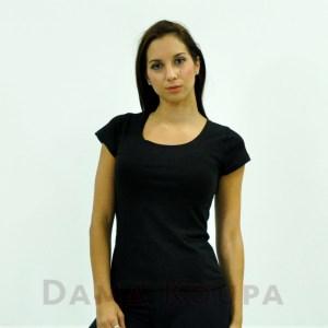 Μαύρες αθλητικές μπλούζες κοντομάνικες