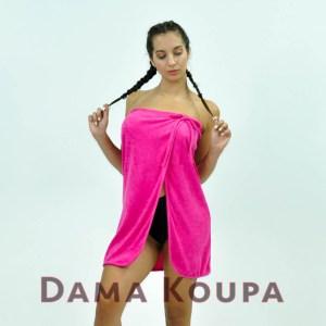 Μπουρνουζέ φόρεμα κοντό