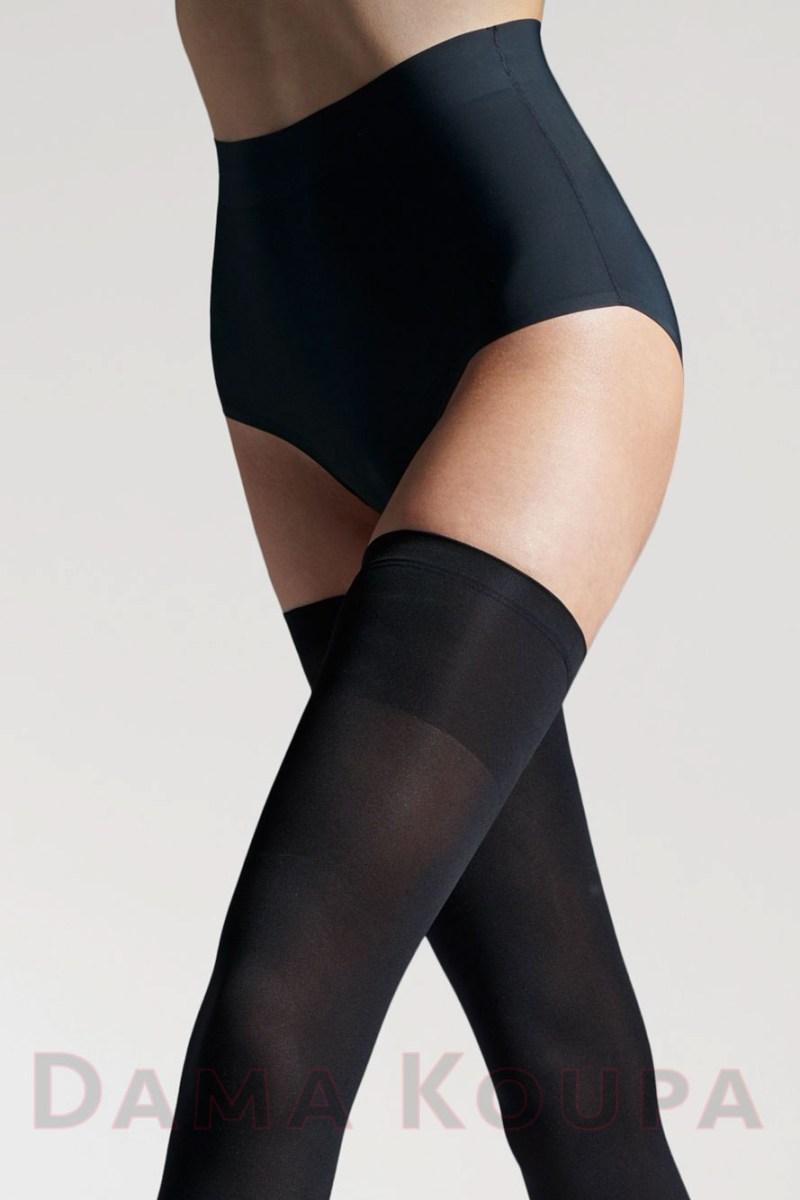 Μαύρες κάλτσες μηρού