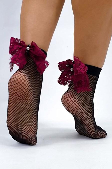 Κάλτσες με πέρλες