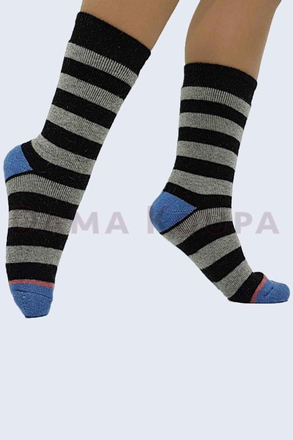 Γυναικεία μάλλινη κάλτσα