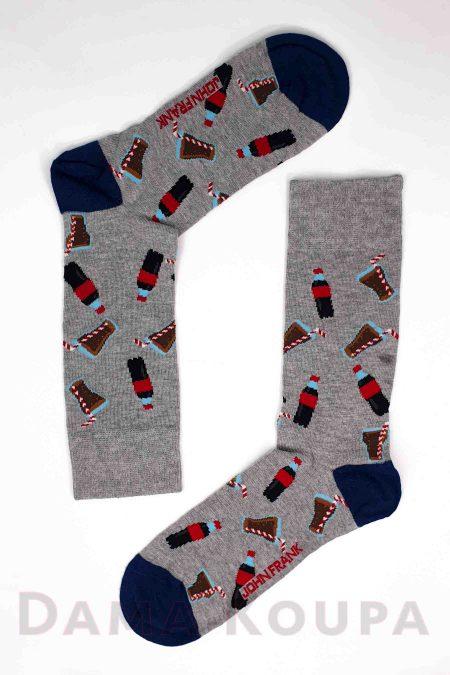 Ανδρικές κάλτσες με σχέδια