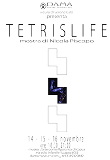 Tetrislife di Nicola Piscopo: l'opera d'arte tra il gioco