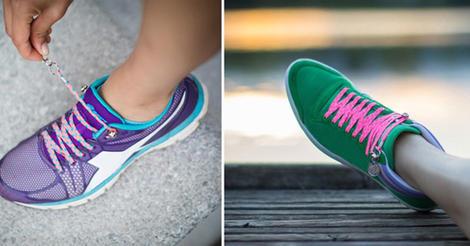 單手固定鞋帶沒問題!QuickShoeLace讓鞋帶不再成為絆腳石 | 大人物