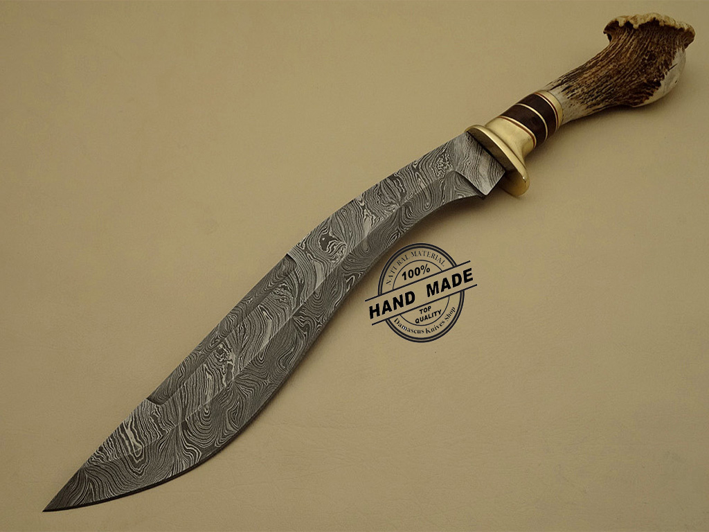 best damascus kitchen knives appliances list kukuri knife custom handmade steel hunting