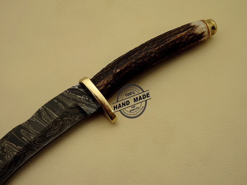 best damascus kitchen knives remodel cost bay area kukuri knife custom handmade steel hunting