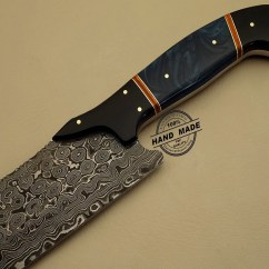 Best Damascus Kitchen Knives Plates To Hang On Wall Knife Custom Handmade Steel