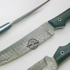 Best Damascus Kitchen Knives Cutting Table Knife Custom Handmade Steel