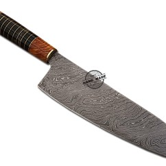 Best Damascus Kitchen Knives Walnut Cabinets