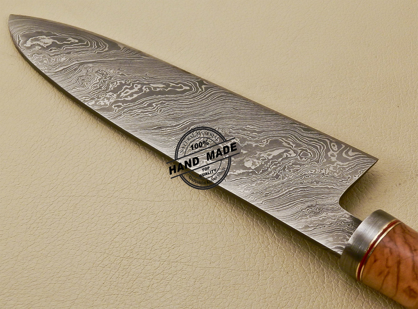 damascus steel kitchen knife faucets reviews chef custom handmade