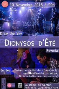 Draw the sky + Riviera à la Dame de Canton