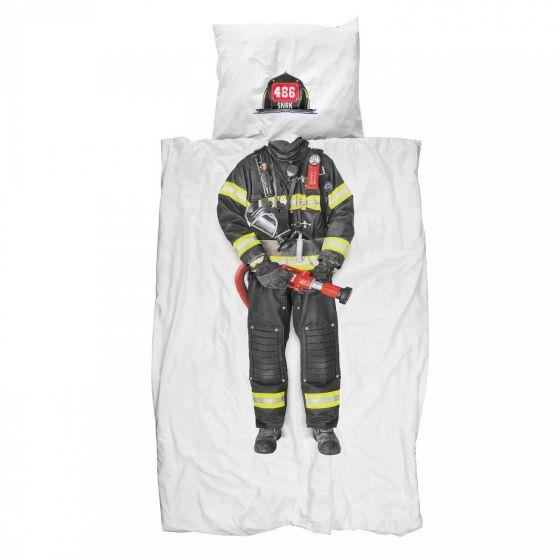 housse de couette pompier snurk 140x200
