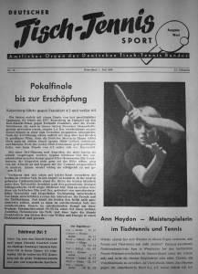 Das Pokalfinale 1959