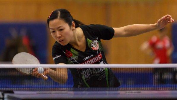 Yang Ting, TSV Schwabhausen | Damen Tischtennis-Bundesliga