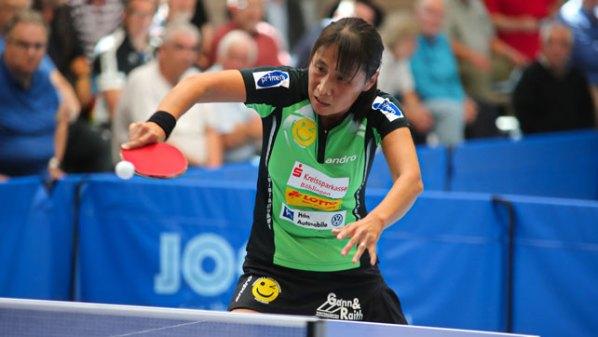 Qianhong Gotsch, SV Böblingen | Damen Tischtennis-Bundesliga
