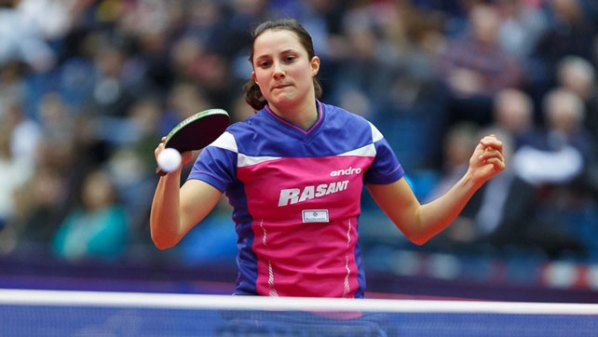 NDM 2016: Sabine Winter   Damen Tischtennis-Bundesliga