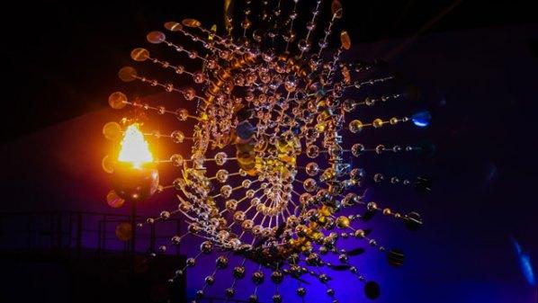 Olympisches Feuer   Damen Tischtennis-Bundesliga