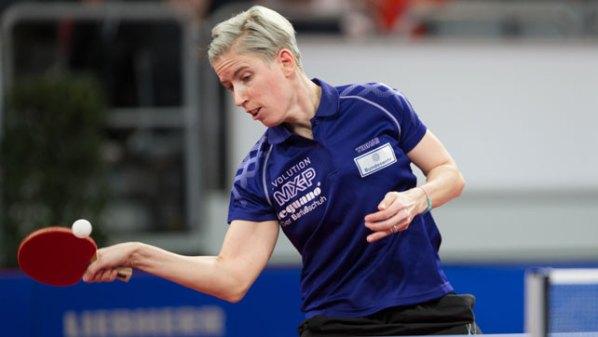 Kristin Lang | Damen Tischtennis-Bundesliga © Holger Straede
