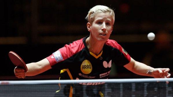 Liebherr Tischtennis-Wm 2017: Kristin Silbereisen, Deutschland   Damen Tischtennis-Bundesliga ©Holger Straede