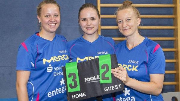 Pokal-Sensation des TSV Langstadt 2017 | Damen Tischtennis-Bundesliga
