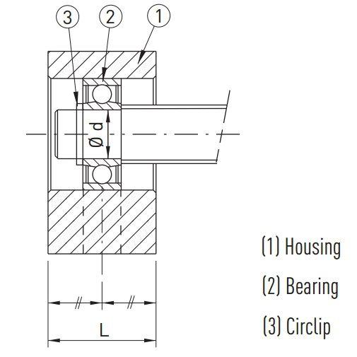 BF10_C3 Floating Ballscrew Support Units (C3 Quality