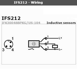 Inductive Proximity Switch IFS 212 PNP 10-36-VDC (Long