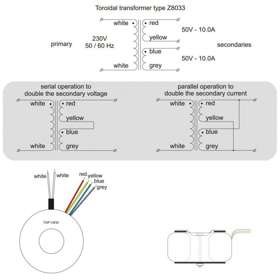 medium resolution of toroidal transformer 1000va 2x50v toroidal transformer 1000va 2x50v