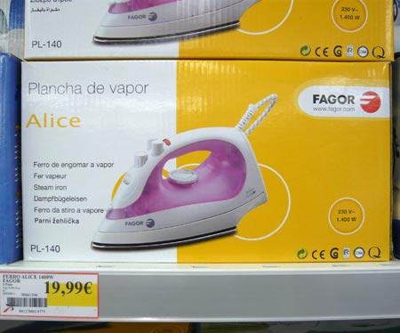 Dampfbügeleisen Alice