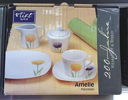 Porzellan Amelie