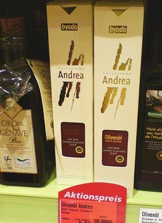 Olivenöl Andrea