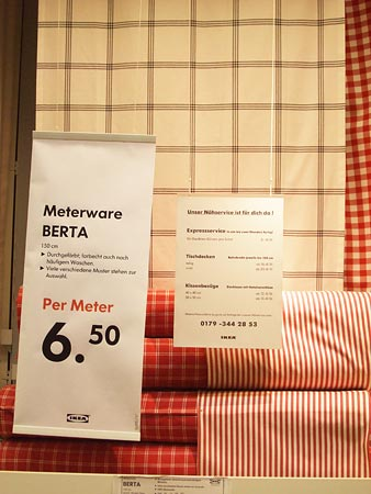 Meterware Berta