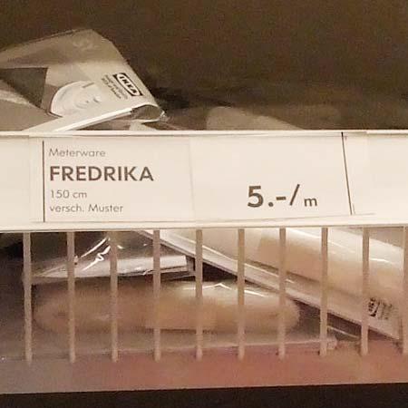 Meterware Fredrica