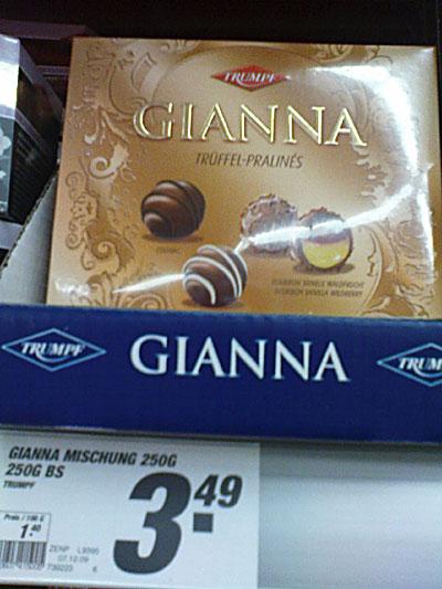 Pralinees Gianna