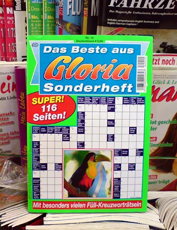 Rätselheft Gloria