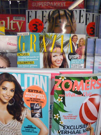 Zeitschrift Grazia