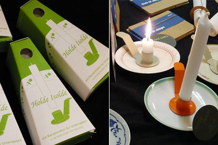 Kerzenhalter Isolde