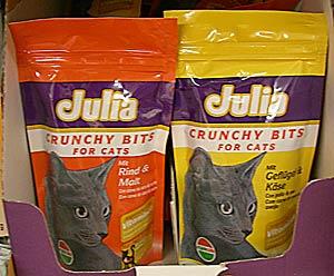 Katzenfutter Julia