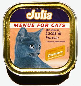 Katzenmenü Julia