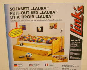 Sofabett Laura