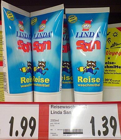 Waschmittel Linda