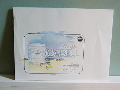 Aquarellblock Maja