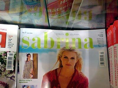Zeitschrift Sabrina