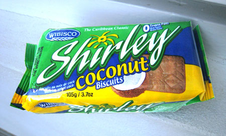 Kokos-Keksriegel Shirley