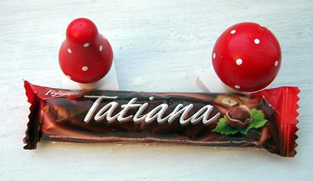 Schokoriegel Tatiana