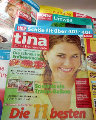 Zeitschrift Tina