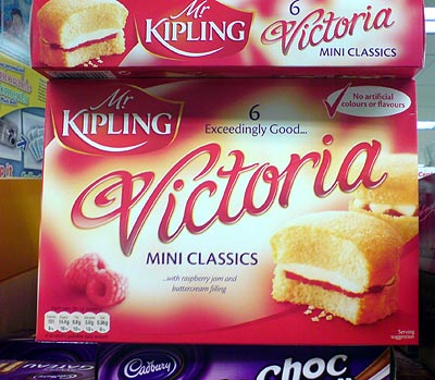 Gebäck Victoria