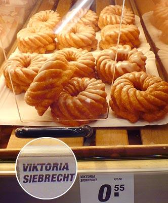 Spritzkuchen Viktoria