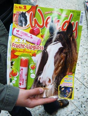 Mädchenzeitschrift Wendy