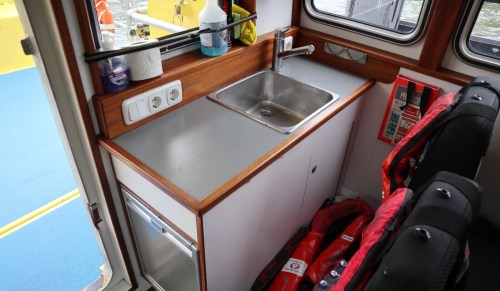 small resolution of kitchenette in passenger area