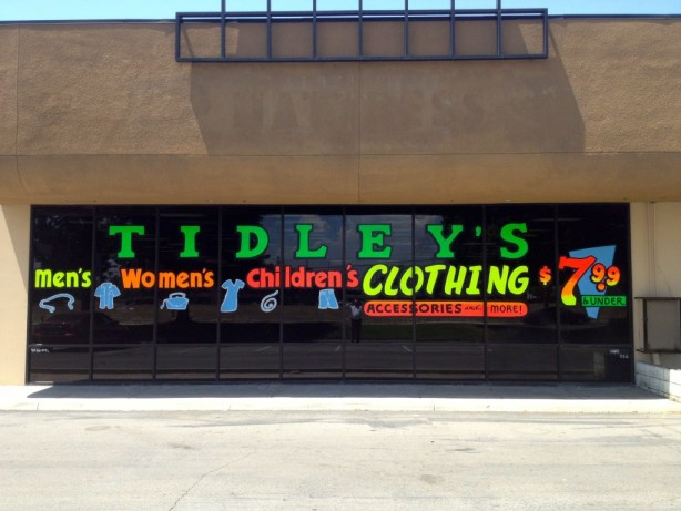 """""""If you are looking for great clothes and accessories for women, men and children priced under $7.99 Then Tidleys is the place to shop,"""" said co-owner Brian Davis."""